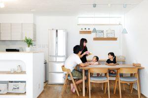 ダイニングテーブル 北欧家具 対面キッチン