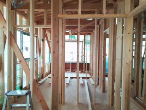 構造材 家づくり 見学会