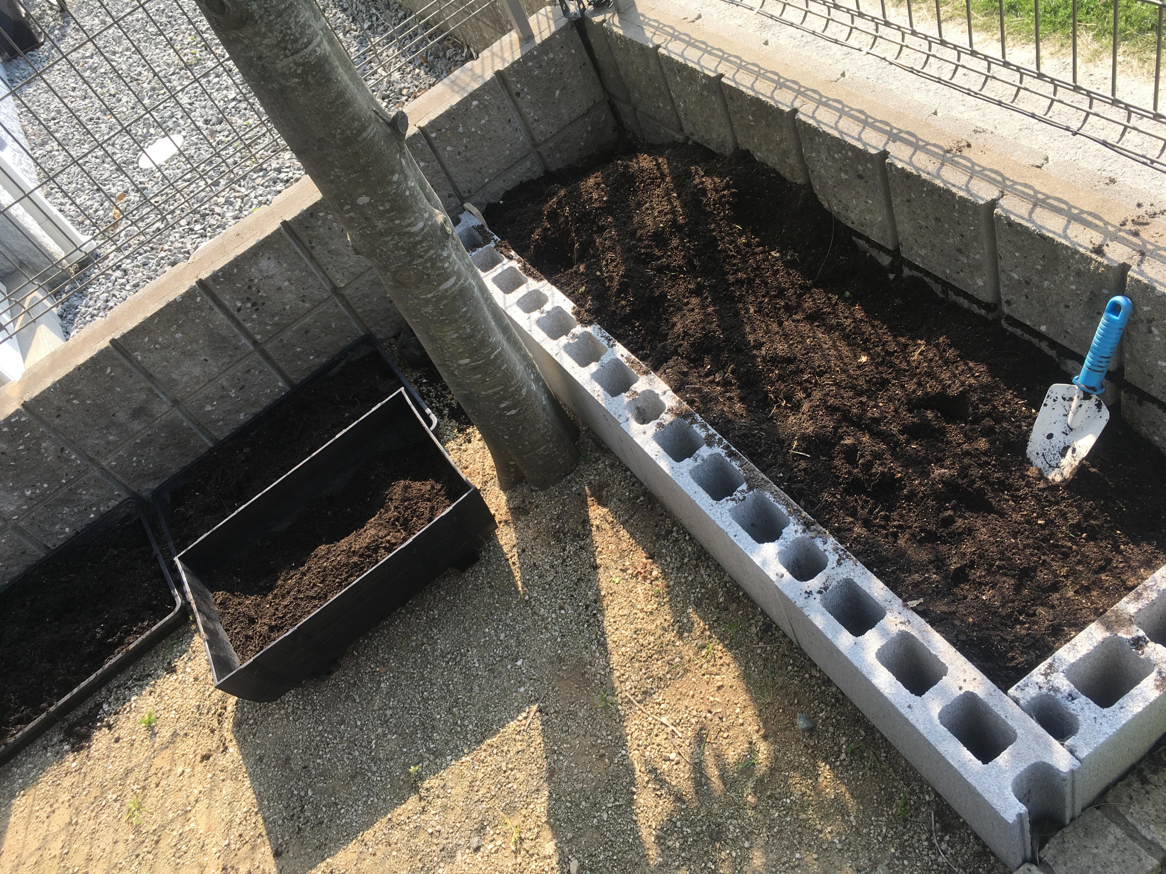 家庭菜園 土作り 耕す 省スペース菜園