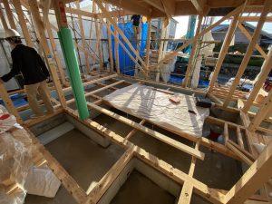 上棟 木造 木の家 コーヨーテック