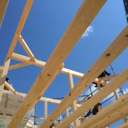 上棟 木造