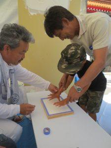 漆喰 漆喰手形 自然素材 イベント