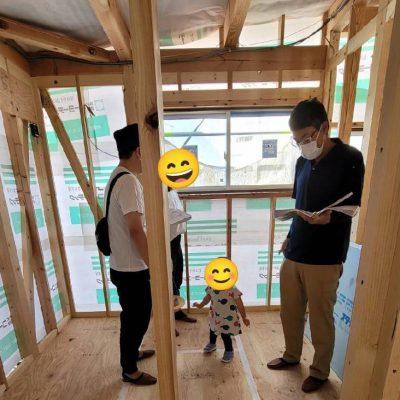 電気 施主様立会 木造住宅